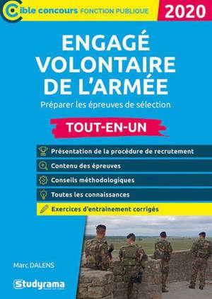 Engagé volontaire de l'armée : préparer les épreuves de sélection, tout-en-un : 2020