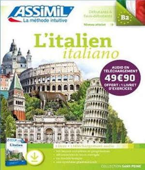 L'italien : débutants & faux débutants, niveau atteint B2