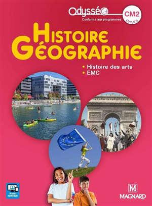 Histoire géographie, EMC CM2, cycle 3 : manuel élève