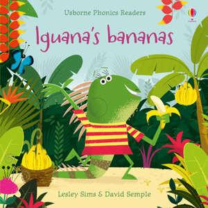 IGUANA'S BANANAS - PHONICS READERS