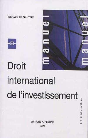 Droit international de l'investissement