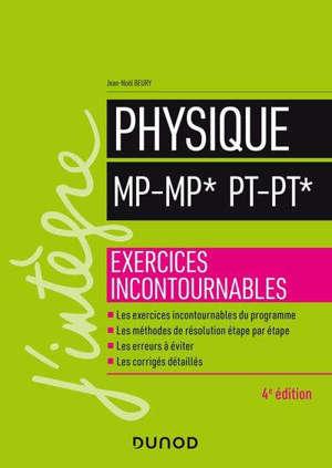 Physique : MP-MP*, PT-PT* : exercices incontournables