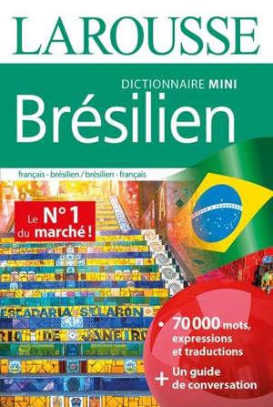 Brésilien : dictionnaire mini : français-brésilien, brésilien-français