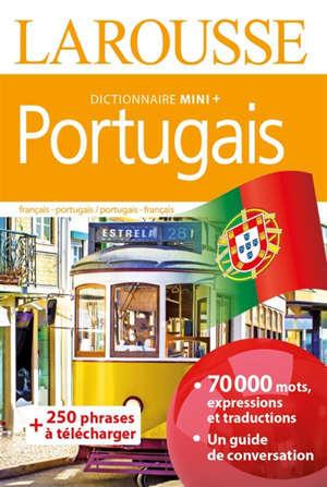 Portugais : dictionnaire mini + : français-portugais, portugais-français