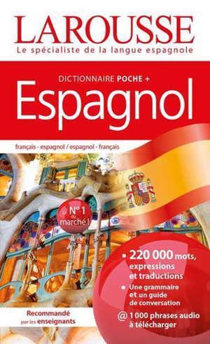 Espagnol : dictionnaire poche + : français-espagnol, espagnol-français