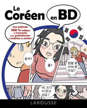 Le coréen en BD