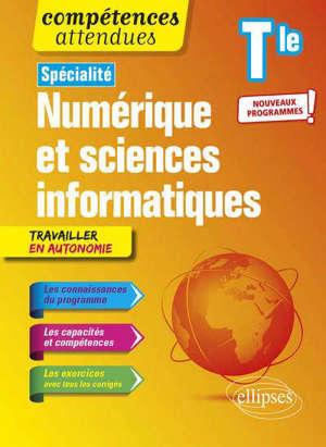 Spécialité NSI numérique et sciences informatiques terminale : nouveaux programmes