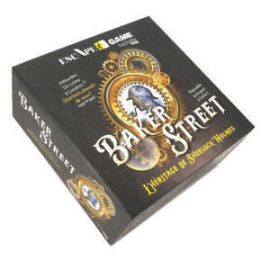 Baker street : l'héritage de Sherlock Holmes : escape game