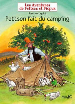 Les aventures de Pettson et Picpus, Pettson fait du camping