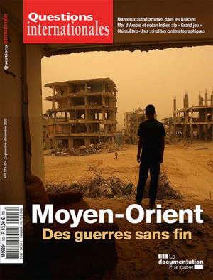 Questions internationales, n° 103-104. Moyen-Orient : des guerres sans fin