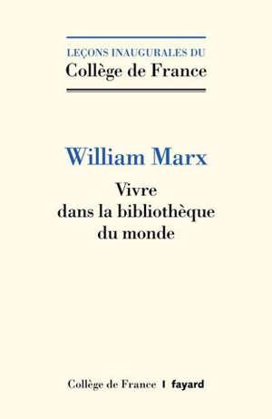 Par-delà la littérature : lire dans la bibliothèque mondiale