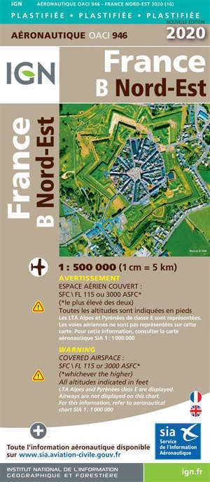 946 - FRANCE NORD EST 2020 PLASTIFIEE