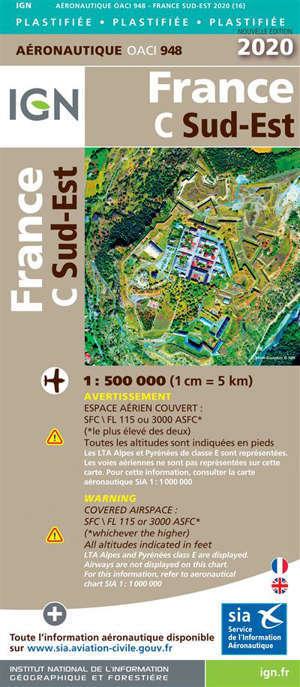 948 - FRANCE SUD EST 2020 PLASTIFIEE