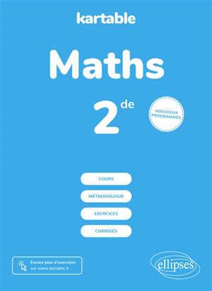 Maths seconde : nouveaux programmes