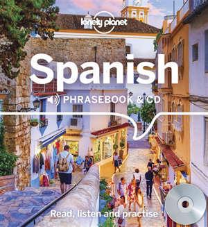 Spanish : phrasebook & CD