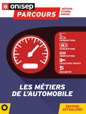 Les métiers de l'automobile : production, conception, innovation, location-vente, sécurité