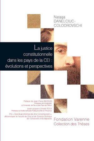La justice constitutionnelle dans les pays de la CEI : évolutions et perspectives