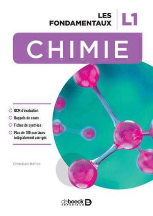 Chimie, L1 : les fondamentaux
