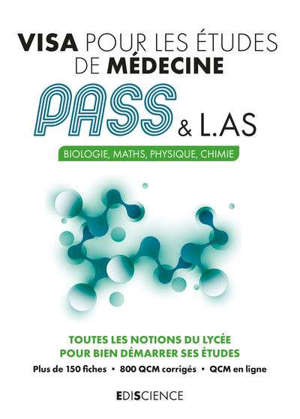 Visa pour le Pass : biologie, maths, physique, chimie