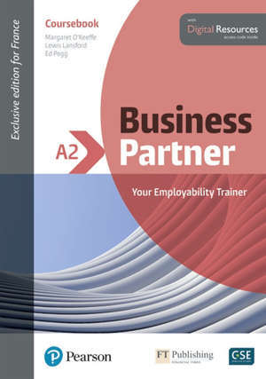 Business partner A2 : your employability trainer : coursebook