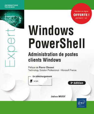 Windows PowerShell : administration de postes clients Windows