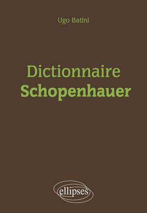 Dictionnaire Schopenhauer