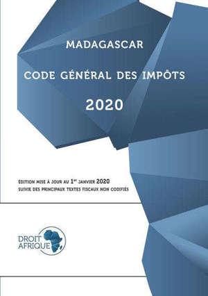 MADAGASCAR - CODE GENERAL DES IMPOTS 2020