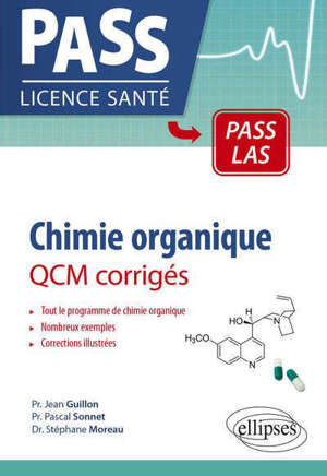 Chimie organique, UE 1 : QCM corrigés