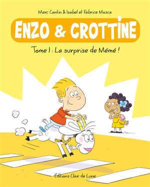 Enzo & Crottine. Volume 1, La surprise de Mémé !