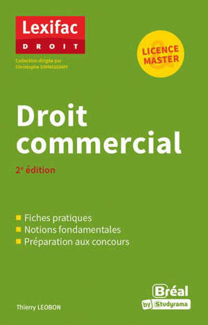 Droit commercial : licence, master