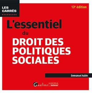 L'essentiel du droit des politiques sociales : 2020-2021