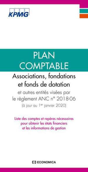 Plan comptable associations, fondations et fonds de dotation : liste des comptes et repères nécessaires pour obtenir les états financiers et les informations de gestion