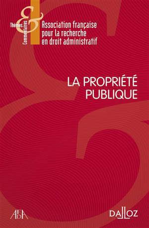 La propriété publique