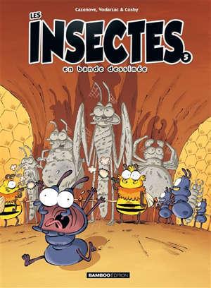 Les insectes en bande dessinée. Volume 5