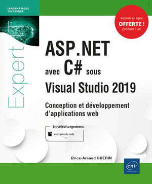 ASP.Net avec C# sous Visual Studio 2019 : conception et développement d'applications web