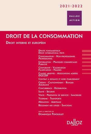 Droit de la consommation 2021-2022 : droit interne et européen