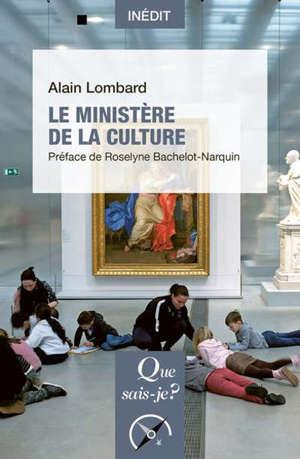 Le ministère de la Culture