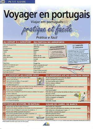 Voyager en portugais : facile et pratique = Viajar em português : pratico e facil