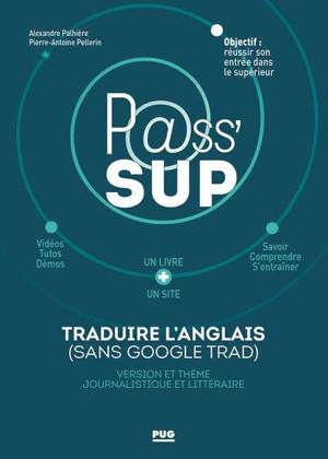 Traduire l'anglais (sans Google trad) : version et thème journalistique et littéraire