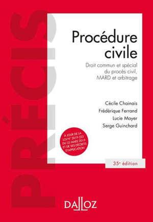 Procédure civile : droit commun et spécial du procès civil, Mard et arbitrage