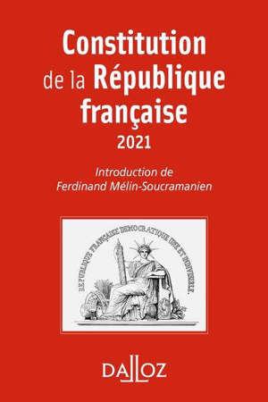 Constitution de la République française : 2021