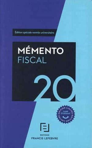 Mémento fiscal 2020