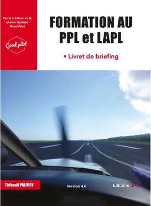 Formation au PPL et LAPL : livret de briefing