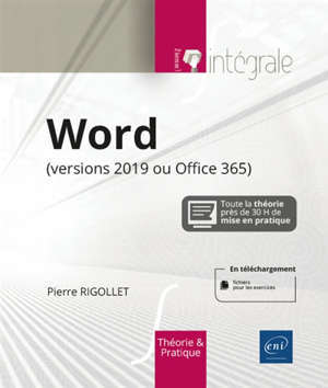 Word : versions 2019 ou Office 365