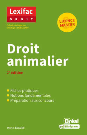 Droit animalier : licence & master
