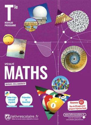 Maths spécialité terminale : manuel collaboratif : nouveau programme