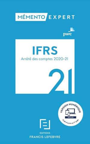 IFRS 2021 : arrêté des comptes 2020-2021