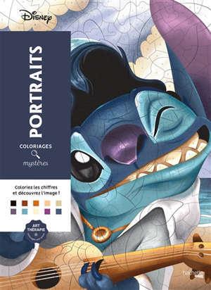 Disney portraits : coloriages mystères