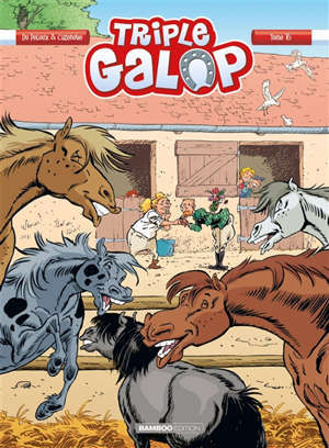 Triple galop. Volume 16