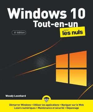 Windows 10 tout en 1 pour les nuls